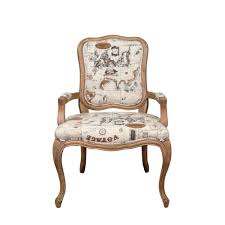 Louis Xv Armchairs Louis Xv Armchair In Oak