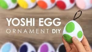 diy felt yoshi egg ornament
