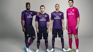 nike unveils arsenal football club away kit for 2012 13 season