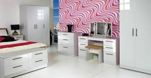 Bedroom Furniture White Gloss Knightsbridge Bedroom Furniture Black Gloss White Gloss Range