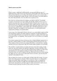 how to wirte a cover letter how to write cover letters pomona