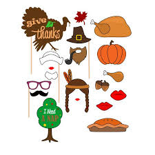 thanksgiving photo booth props thanksgiving photo booth cuttable design