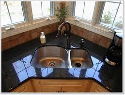 chic and trendy corner kitchen sink designs corner kitchen sink