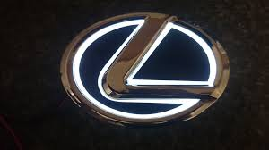 2008 lexus es350 forum illuminated led emblem badge clublexus lexus forum discussion