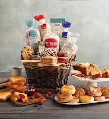 breakfast baskets breakfast entertainer basket breakfast gift baskets wolferman s