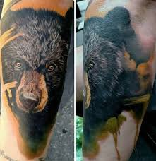 45 spectacular bear tattoos design you can u0027t imagine parryz com