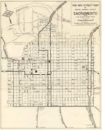 Map Sacramento California Aaroads California 16