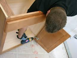 Installing New Bathroom Vanity How To Install A Vanity In A Master Bathroom How Tos Diy