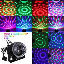 disco for sale hot sale mini rgb led magic stage effect lighting