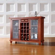 bar table with wine rack smaller version on the bar ballard wine