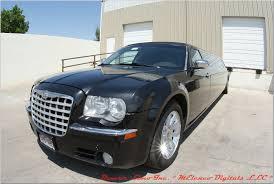 chrysler 300c black black chrysler 300c limousine 12 passenger black denver limos