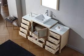 Bathroom Vanity 72 Inch Virtu Usa 72 U2033 Dior Single Sink Bathroom Vanity Set