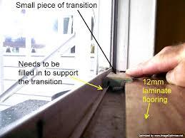 Sliding Patio Door Repair Laminate Transitions At Sliding Doors