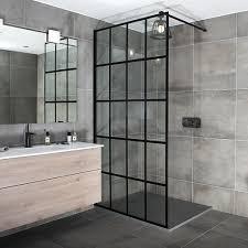 Black Shower Door Black Shower Screens Enclosures By Drench