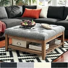 storage ottoman coffee table with trays ottoman table tray medium ottoman coffee table tray gallery black