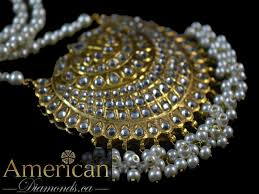 pearl necklace pictures images Thappa kundan and pearl necklace with earrings set 10751 jpg