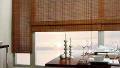 Outdoor Bamboo Blinds Lowes White Bamboo Shades Lowes Lowes Window Treatments Roller Shades