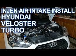 hyundai veloster intake injen intake install hyundai veloster turbo