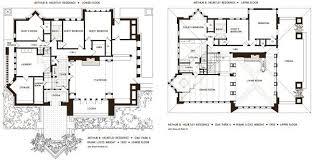 floor plan of the huertley house frank lloyd wright oak park