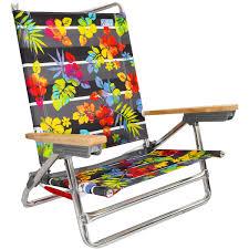 Rio Sand Chair Rio 5 Position Layflat Beach Chair Hibiscus Twist By Rio Low