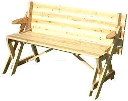 Folding Bench Picnic Table Folding Garden Benches Folding Picnic Table Wood Folding Wooden