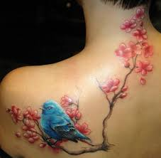 small cherry blossom tattoo designs on foot tattoo design ideas