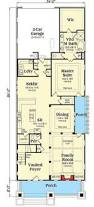 Bungalow House Plans With Porches by Stylish Plan For A Narrow Lot Hwbdo69203 Bungalow House Plan