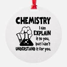 chemistry ornament cafepress