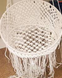 Macrame Home Decor by Hang A Round Chair Modern Chairs Design