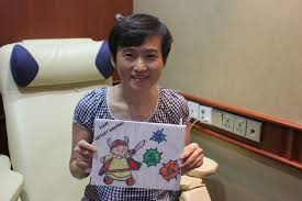 todayonline cancer patients get drawings of courage as christmas