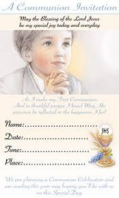 communion invitations boy boy communion invites blue and gold religious communion
