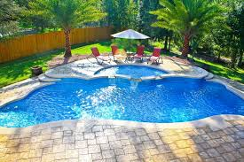 Inground Pool Ideas Pool Design High Tech Pool And Spa With Sophisticated Water