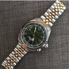 bracelet seiko images Seiko alpinist with strapcode two tone jubilee bracelet watches jpg