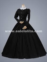 2016 elegant black long sleeves retro renaissance gothic victorian