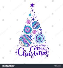merry christmas modern very merry christmas modern lettering design stock vector