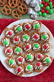 christmas chocolate christmas pretzel hugs dessert now dinner later