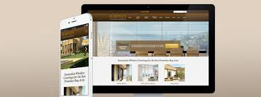 hartley window coverings website redesign improves lead generation