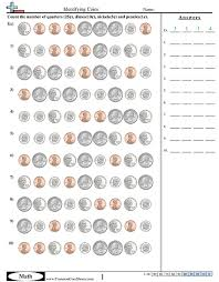 Counting Coins Worksheet Generator Counting Coins Worksheet Generator Worksheets