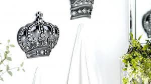 Amazing Metal Crown Wall Decor Plus Princess Pink Sui Xue Site