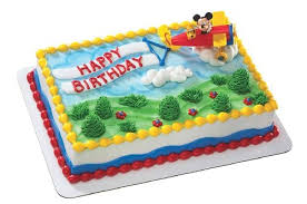 airplane cake topper cake decorations mickey friends airplane cake topper