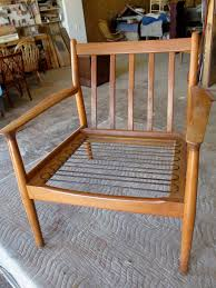 How To Restore Wicker Patio Furniture by How To Refinish A Vintage Midcentury Modern Chair Diy