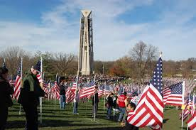 Flag Pole Hill Field Of Flags Will Return To Naperville U0027s Rotary Hill For