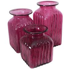 purple canisters for the kitchen blown glass canisters collection renaissance kitchen canister