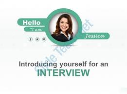 powerpoint template to introduce yourself interview powerpoint
