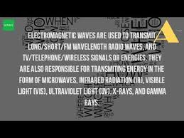 Visible Light Examples What Are The Examples Of Electromagnetic Wave Youtube