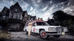 ecto 1 for sale american hearse converted into ghostbusters ecto 1