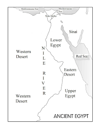 Egypt On Map Map Of Major Rivers In Egypt Popular River 2017