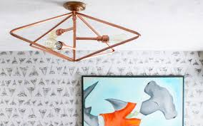 Diy Ceiling Light by Diy Teen Bedroom Makeover Paint Yourself A Smile