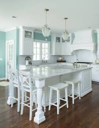 turquoise kitchen island 30 kitchen islands with seating and dining areas digsdigs
