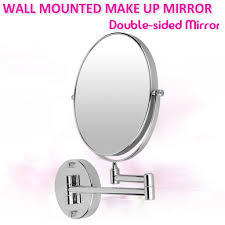 extending bathroom mirrors wall mounted bathroom mirror with extending arm 5x magnification